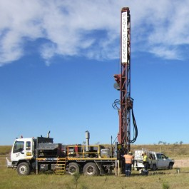 large drilling rigs